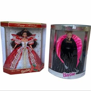 Limited Edition Happy Holidays 1997 1998 Barbie